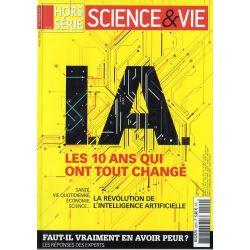 Science & Vie Hors série n° 290 H - I.A. Les 10 ans qui ont tout changé - Faut-il vraiment en avoir peur ?