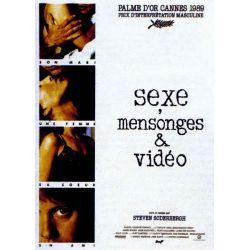 Affiche film Sexe, mensonges et vidéo (de Steven Soderbergh)