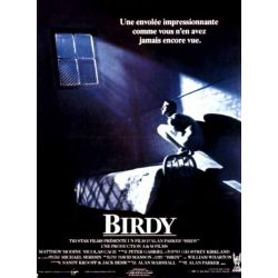 Affiche film Birdy (Nicolas Cage, Matthew Modine)