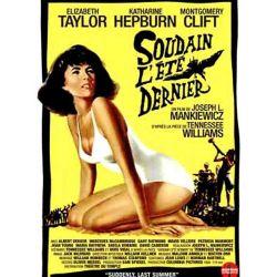 Affiche film Soudain l'été dernier (de Joseph L. Mankiewicz)