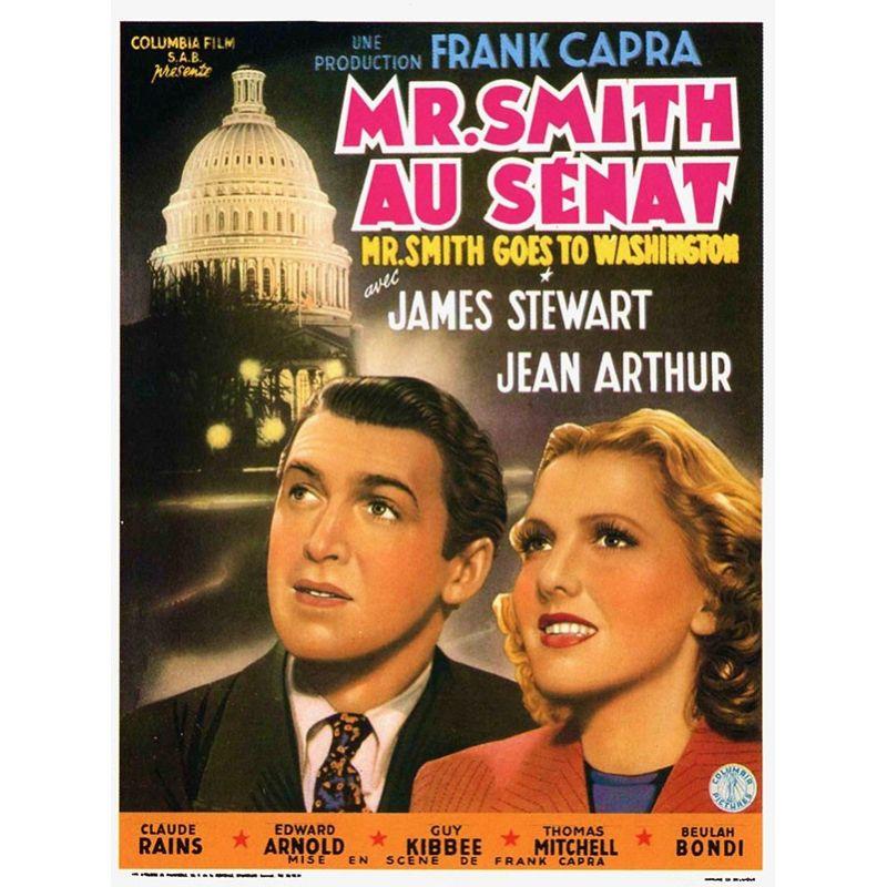 affiche film Mr Smith au Sénat (de Frank Capra)