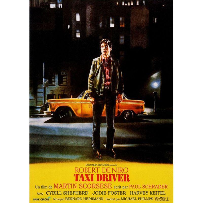 Affiche film Taxi Driver (de Martin Scorsese)