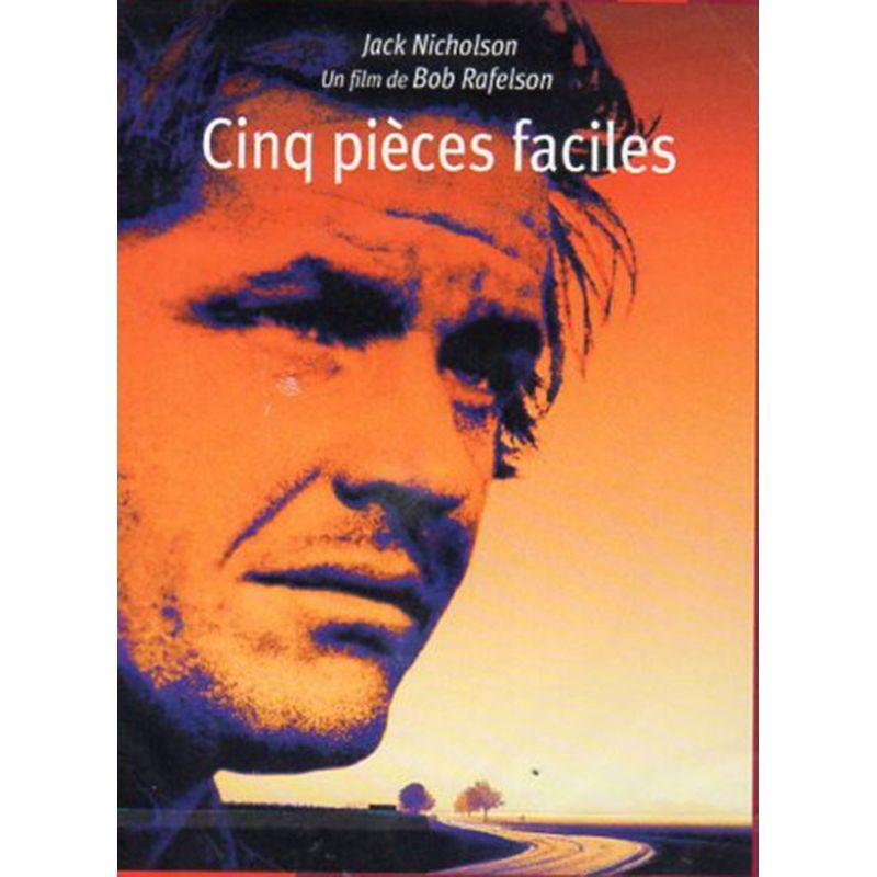 Affiche film Cinq pièces faciles (de Bob Rafelson)