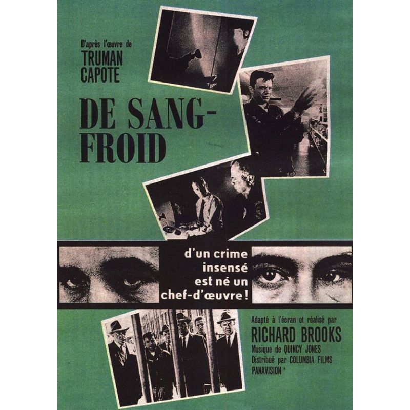 Affiche film De Sang Froid (de Richard Brooks)