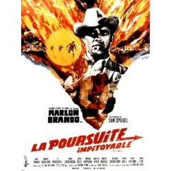 Affiche film La Poursuite Impitoyable (de Arthur Penn)