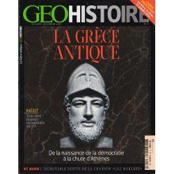 Géo Histoire n° 17 - La Grèce Antique, De la naissance de la démocratie à la chute d'Athènes