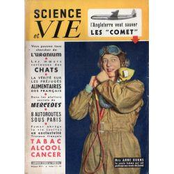 """Science & Vie n° 448 - Janvier 1955 - L'Angleterre veut sauver les """"COMET"""""""