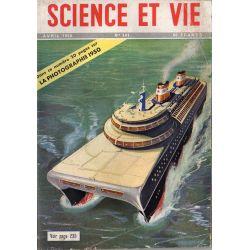 Science & Vie n° 391 - Avril 1950 - Les possibilités d'un navire à double coque