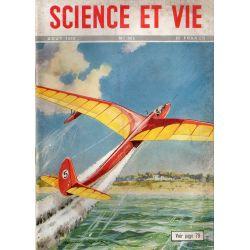 Science & Vie n° 383 - Aout 1949 - Le décollage des planeurs