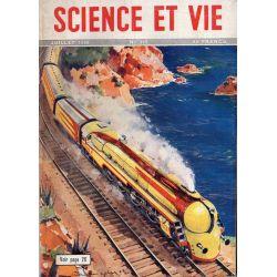Science & Vie n° 382 - Juillet 1949 - L'Aérodynamisme des trains