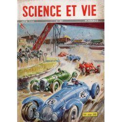 """Science & Vie n° 381 - Juin 1949 - La course laboratoire : Les """"Vingt-quatre heures du Mans"""""""