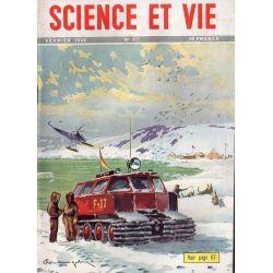 Science & Vie n° 377 - Février 1949 - L'équipement moderne des missions polaires