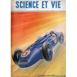 Science & Vie n° 348 - Septembre 1946 - Voitures de course