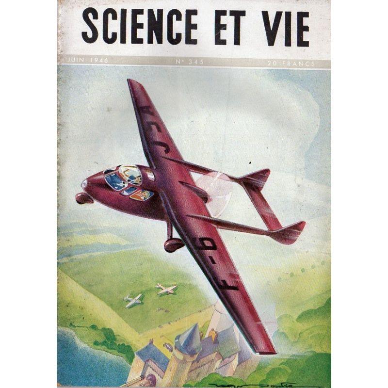 Science & Vie n° 345 - Juin 1946 - L'avion taxi