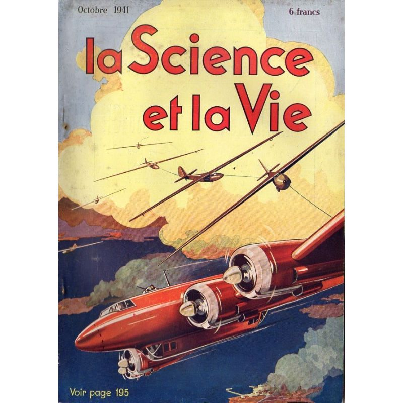 Science & Vie n° 290 - Octobre 1941 - Le bombardement en piqué