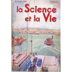 Science & Vie n° 279 - Novembre 1940 - La grande voie fluviale Rhin-Main-Danube