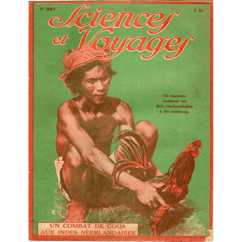 Sciences et Voyages n° 387 - 27 janvier 1927 - Des fouilles effectuées dans l'Ohio ont révélé l'Empire des pêcheurs de perles