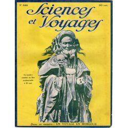 Sciences et Voyages n° 346 - 15 avril 1926 - Voyage aux villes saintes de la Mongolie
