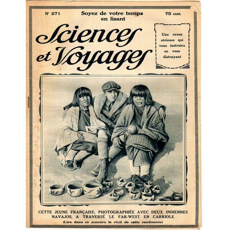 Sciences et Voyages n° 271 - 6 novembre 1924 - Paris pittoresque : La Bourse, quartier de la finance