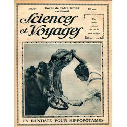 Sciences et Voyages n° 264 - 18 septembre 1924 - La Lèpre est une maladie qui existe toujours