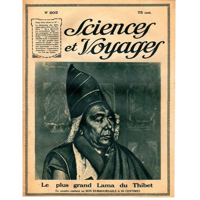 Sciences et Voyages n° 202 - 12 juillet 1923 - La fabrication des différentes pièces d'un feu d'artifice