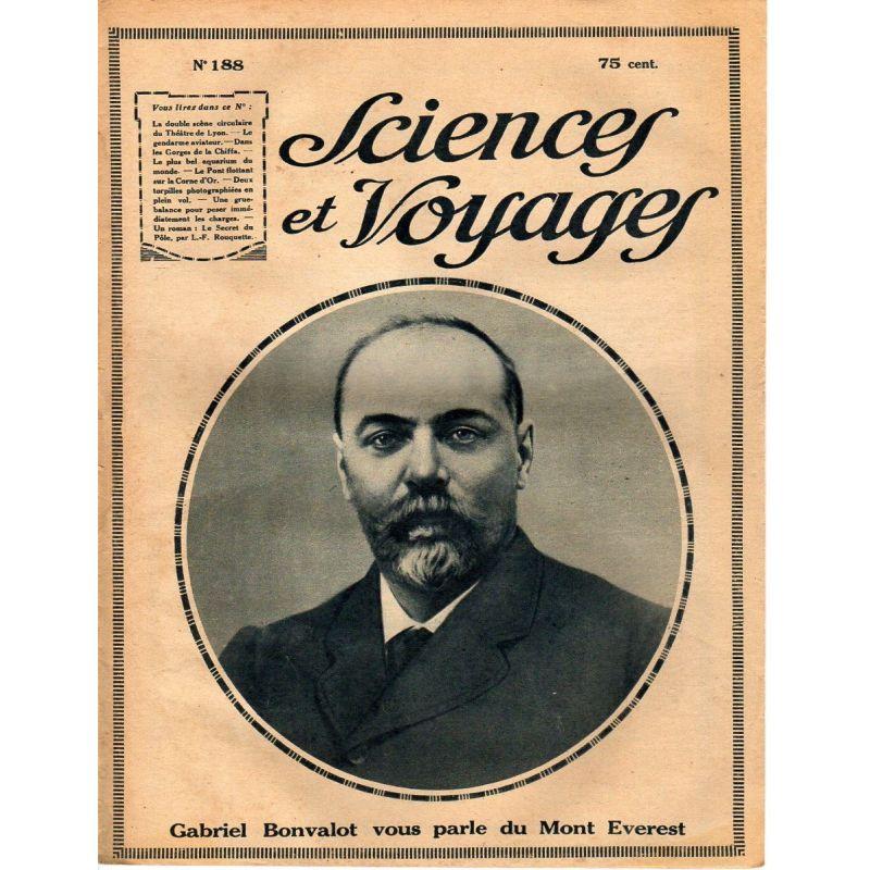 Sciences et Voyages n° 188 - 5 avril 1923 - L'Asie Mystérieuse