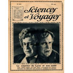 Sciences et Voyages n° 187 - 29 mars 1923 - La fabrication des dragées, pralines et autres gourmandises