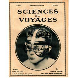 Sciences et Voyages n° 175 - 4 janvier 1923 - Roulis : les grands gyroscopes stabilisateurs