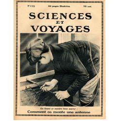 Sciences et Voyages n° 173 - 21 décembre 1922 - Comment installer une antenne de T.S.F.