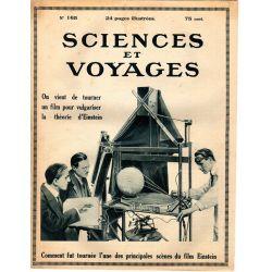 Sciences et Voyages n° 165 - 26 octobre 1922 - Un film pour vulgariser la théorie d'Einstein