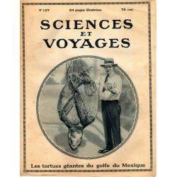 Sciences et Voyages n° 157 - 31 aout 1922 - Que savons-nous des premiers hommes ?
