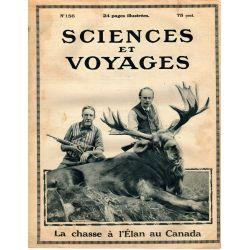 Sciences et Voyages n° 156 - 24 aout 1922 - Les hélices des navires tournent au courant électrique