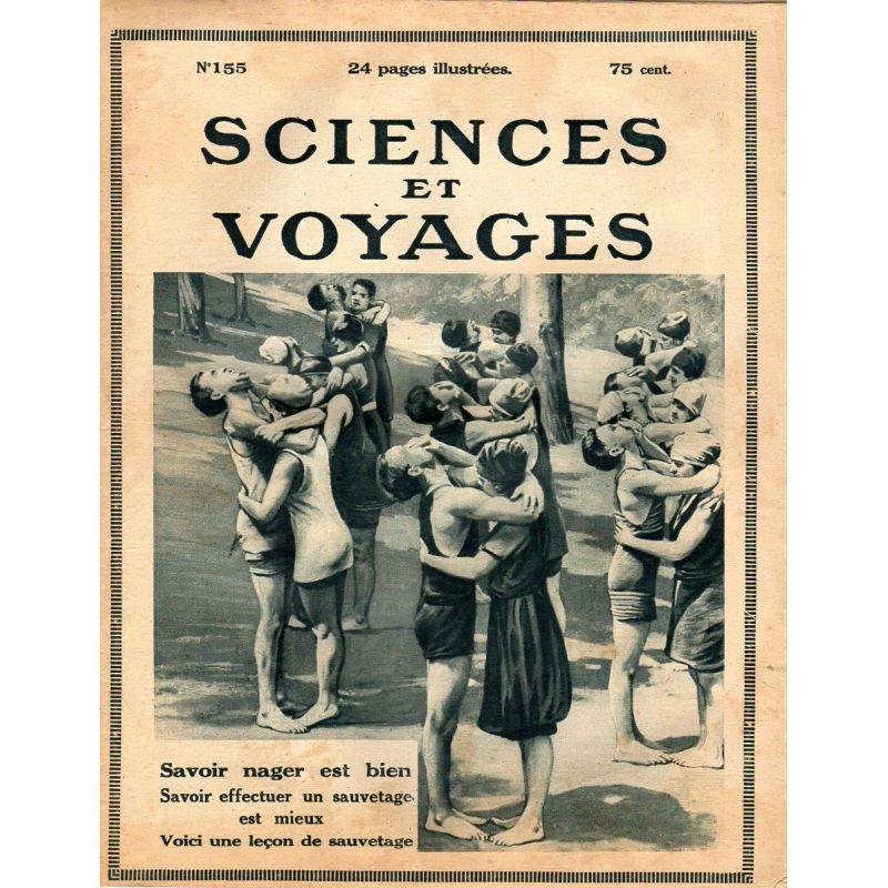 Sciences et Voyages n° 155 - 17 aout 1922 - Les plantes qui perdent la tête