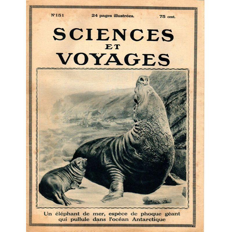 Sciences et Voyages n° 151 - 20 juillet 1922 - La purification des eaux d'alimentation