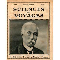 Sciences et Voyages n° 145 - 8 juin 1922 - Quelle doit être l'orientation de l'activité intellectuelle de la jeunesse française