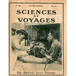 Sciences et Voyages n° 140 - 4 mai 1922 - L'Exhortation du Maréchal Lyautey