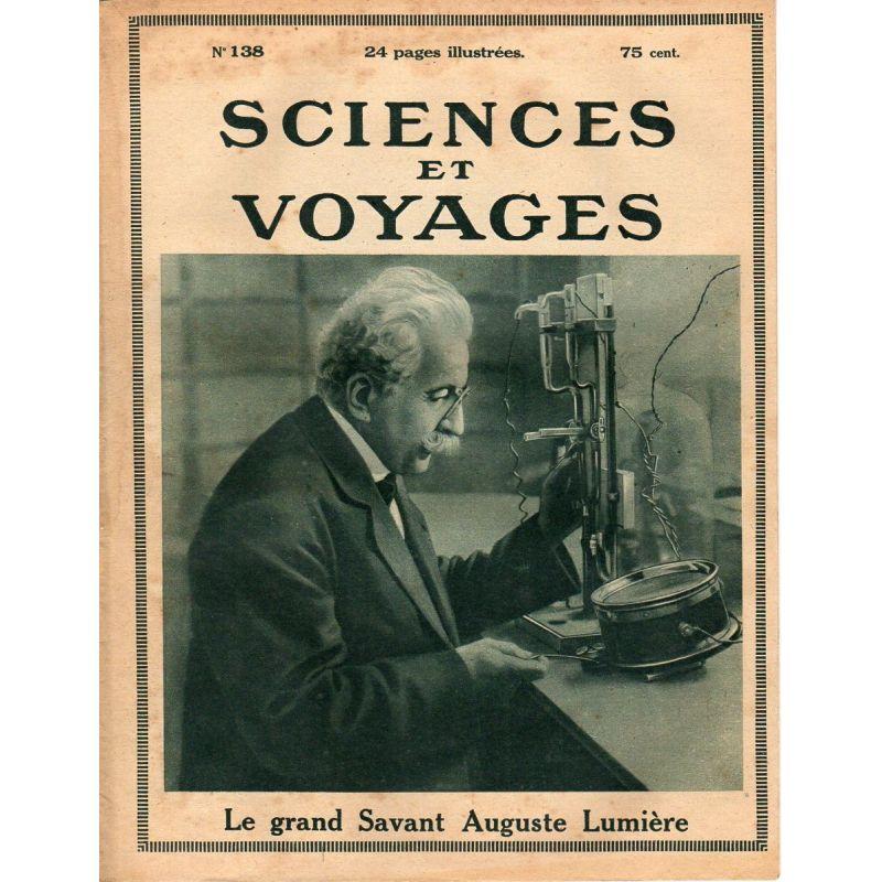 Sciences et Voyages n° 138 - 20 avril 1922 - L'orientation de l'activité intellectuelle de la jeunesse