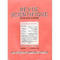 Revue Scientifique n° 1 - 72éme année - 13 janvier 1934