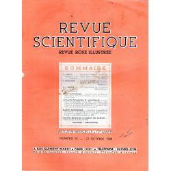 Revue Scientifique n° 20 - 72éme année - 27 octobre 1934