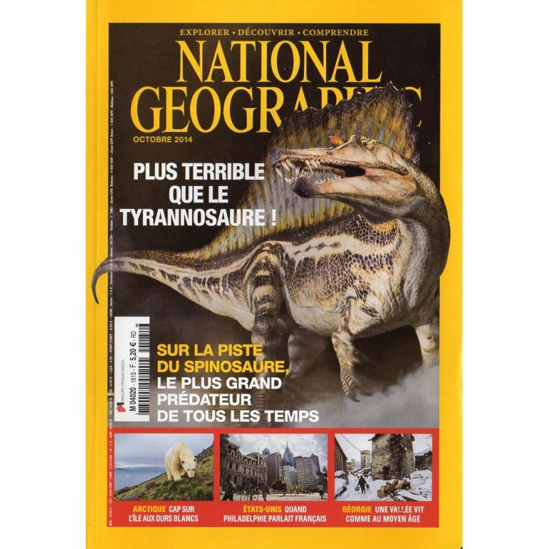 National Geographic n° 181 S - Plus terrible que le Tyrannosaure ?