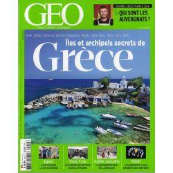 GEO n° 424 S - Iles et archipels secrets de la GRECE
