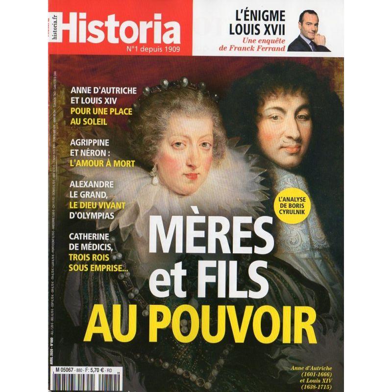 Historia n° 880 - Mères et fils au pouvoir