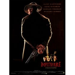 Impitoyable (Avec Clint Eastwood) affiche film