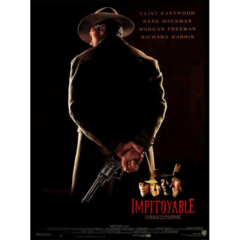 Impitoyable (Avec Clint Eastwood) affiche film