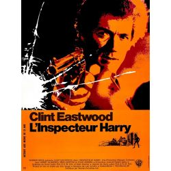 L'Inspecteur Harry (Avec Clint Eastwood) affiche du film