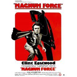 Magnum Force (Avec Clint Eastwood) affiche du film