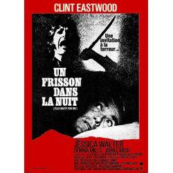 Un Frisson dans la Nuit (Clint Eastwood) affiche du film