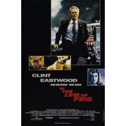 Dans la Ligne de Mire (Avec Clint Eastwood) affiche du film
