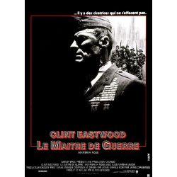 Le Maître de Guerre (Clint Eastwood) affiche du film