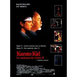 Karaté Kid 2 (de John G. Avildsen) affiche film
